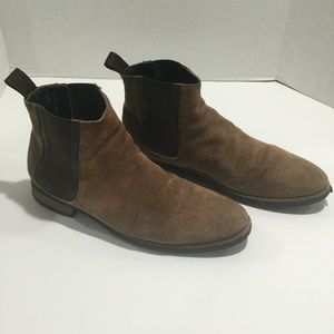 Thursday Boots Duke Chelsea Boot Engineering Suede